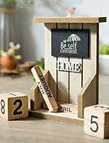 Недорогие -1шт Дерево Простой стиль для Украшение дома, Домашние украшения Дары
