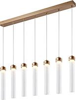 Недорогие -ZHISHU 5-Light Цилиндр Подвесные лампы Потолочный светильник - Творчество, Новый дизайн, 110-120Вольт / 220-240Вольт Светодиодный источник света в комплекте