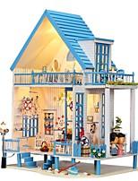 baratos -Casa de Boneca Adorável Requintado Romance Moderna Peças Crianças Adulto Para Meninas Brinquedos Dom