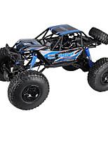 baratos -Carro com CR MZ 2837 4CH 2.4G Stunt Car 1:10 8 km/h KM / H Função de escalada / Rotação 360 °