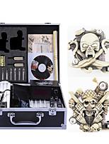 abordables -Machine à tatouer Kit de tatouage professionnel - 2 pcs Machines de tatouage, Haut débit / Vitesses variables / Niveau professionnel Alliage # Case Not Included 2 x sculpté machine à tatouer pour la
