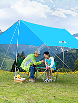 cheap -BSwolf 5 person Canopy Tent Single Layered Poled Camping Tent One Room  Outdoor Windproof 1500-2000 mm  for Fishing Oxford Cloth 300*300 cm / Rain-Proof