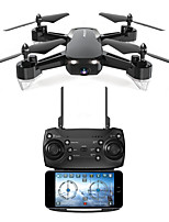 abordables -RC Dron FQ777 FQ777-40 RTF 4 Canales 6 Ejes 2.4G Con Cámara HD 480P 480P Quadccótero de radiocontrol  FPV / Retorno Con Un Botón / Flotar Quadcopter RC / Mando A Distancia / 1 Cable USB