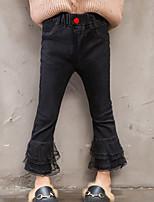economico -Bambino (1-4 anni) Da ragazza Tinta unita Jeans