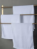 preiswerte -Bad Zubehör-Set / Handtuchhalter / Kleiderhaken Kreativ / Mehrlagig / Neues Design Moderne / Antike Edelstahl 1pc - Bad 3-Handtuch-Bar Wandmontage