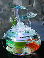 cheap -1pc Glass / Plastic European Style for Home Decoration, Home Decorations Gifts