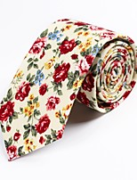 cheap -Men's Party / Basic Necktie - Print
