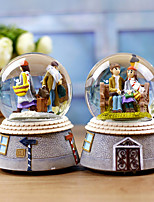 Недорогие -1шт Резина / Стекло Модерн для Украшение дома, Подарки / Домашние украшения Дары