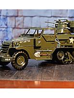 abordables -Coches de juguete Vehículo militar Camioneta Simulación / Exquisito Hierro Todo Niños / Adulto Regalo 1 pcs