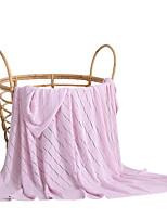 Недорогие -Супер мягкий, Активный краситель Однотонный Бамбук / хлопок одеяла