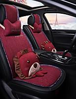 Недорогие -ODEER Чехлы на автокресла Чехлы для сидений Черный / Красный текстильный Мультяшная тематика / Общий Назначение Универсальный Все года Все модели