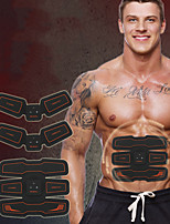 cheap -Abs Stimulator / Abdominal Toning Belt / EMS Abs Trainer With Plastic Electronic, Muscle Toner, Wireless EMS Training, Muscle Toning, ABS Trainer For Exercise & Fitness / Gym / Workout Arm, Abdomen