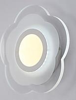 Недорогие -Модерн Настенные светильники Спальня Стекло настенный светильник 220-240Вольт 13 W
