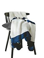 Недорогие -Супер мягкий, Активный краситель Геометрический принт Полиэстер одеяла