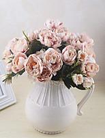 abordables -Fleurs artificielles 1 Une succursale Classique / Simple Elégant / style pastoral Roses Fleur de Table