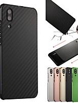 Недорогие -Кейс для Назначение Huawei P20 / P20 Pro Защита от удара / Покрытие Кейс на заднюю панель Однотонный Твердый Алюминий для Huawei P20 / Huawei P20 Pro / Huawei P20 lite / P10 Plus / P10 Lite / P10