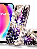 Недорогие -Кейс для Назначение Huawei P20 Pro / P20 lite С узором Кейс на заднюю панель Фрукты Мягкий ТПУ для Huawei P20 / Huawei P20 Pro / Huawei P20 lite