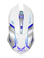 Недорогие -Factory OEM Беспроводная 2.4G Gaming Mouse 6 pcs ключи RGB свет 3 Регулируемые уровни DPI 3200 dpi
