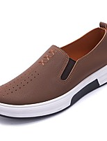 cheap -Men's Rubber Spring Comfort Loafers & Slip-Ons Gray / Brown / Green