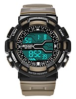 cheap -SANDA Men's Sport Watch / Digital Watch Japanese Calendar / date / day / Water Resistant / Water Proof / Stopwatch Plastic Band Luxury / Fashion Black
