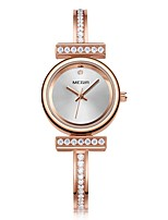 cheap -MEGIR Women's Dress Watch Wrist Watch Japanese Quartz 30 m Water Resistant / Water Proof New Design Cool Copper Band Analog Fashion Elegant Rose Gold - Rose Gold / Imitation Diamond