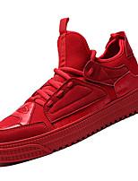 Недорогие -Муж. Сетка / Полиуретан Осень Удобная обувь Кеды Серый / Красный / Зеленый