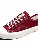 cheap -Men's Canvas Summer Light Soles Sneakers Black / Red / Green