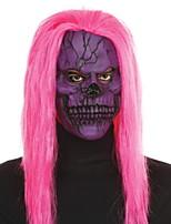 baratos -Decorações de férias Decorações de Halloween Máscaras de Dia das Bruxas / Halloween Entertaining Decorativa / Legal Rosa claro 1pç
