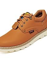 Недорогие -Муж. Комфортная обувь Полиуретан Осень Кеды Синий / Винный / Хаки