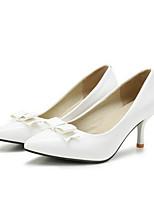 Недорогие -Жен. Комфортная обувь ПВХ / Полиуретан Весна Обувь на каблуках На шпильке Белый / Зеленый / Розовый