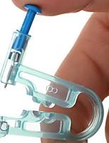 Недорогие -здоровая безопасность асепсис одноразовая единица уха шпильки пирсинг пистолет пирсинг инструмент красоты инструмент