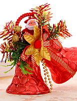 baratos -Enfeites de Natal Férias Plástico / PVC Quadrada Novidades Decoração de Natal