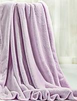 abordables -Qualité supérieure Serviette de bain, Couleur Pleine 100% Microfibre Salle de  Bain 1 pcs