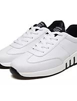 Недорогие -Муж. Полиуретан Лето Удобная обувь Кеды Белый / Розовый и белый / Черно-белый