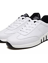 cheap -Men's PU(Polyurethane) Summer Comfort Sneakers White / Pink / White / Black / White