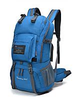 cheap -40 L Hiking Backpack - YKK Zipper Outdoor Hiking 100g / m2 Polyester Knit Stretch Blue, Khaki, Dark Navy