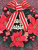 Недорогие -Гирлянды / Рождественские украшения Праздник пластик Круглый Оригинальные Рождественские украшения