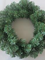baratos -Guirlandas / Enfeites de Natal Férias Plástico Redonda Novidades Decoração de Natal