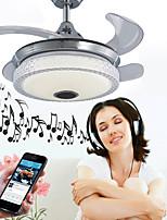 economico -Ecolight™ Geometrica / Originale Ventilatore Luce ambientale - Regolabili, Controllo WIFI, Controllo Bluetooth, 110-120V / 220-240V, RGB, Sorgente luminosa a LED inclusa