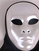 Недорогие -Праздничные украшения Украшения для Хэллоуина Маски на Хэллоуин Для вечеринок / Декоративная / Cool Черный / Серебряный 1шт