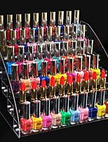 Недорогие -Место хранения организация Косметологический макияж Акрил / пластик Нерегулярная форма Многослойный / непокрытый