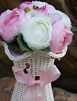 Недорогие -Искусственные Цветы 10 Филиал Классический / Односпальный комплект (Ш 150 x Д 200 см) Стиль / Свадебные цветы Розы Букеты на стол