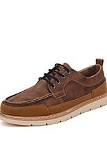 Недорогие -Муж. Обувь Bullock Полиуретан Осень Кеды Черный / Коричневый / Синий