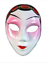 Недорогие -Праздничные украшения Украшения для Хэллоуина Маски на Хэллоуин Для вечеринок / Декоративная Розовый 1шт