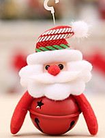 preiswerte -Weihnachtsfiguren / Dekoration Urlaub Baumwollstoff Quadratisch Neuartige Weihnachtsdekoration
