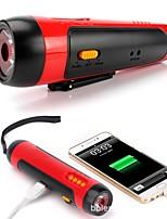 economico -Torcia elettrica di allarme / Strumenti e accessori Portatile, Radio FM, Sveglia per Campeggio / Escursionismo / Speleologia / Viaggi - ABS 1 pcs