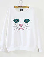 cheap -Women's Going out Sweatshirt - Cartoon