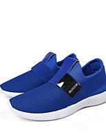 Недорогие -Муж. Комфортная обувь Сетка Весна Кеды Черный / Серый / Синий