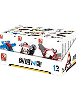 Недорогие -Sluban Конструкторы 12 pcs трансформируемый Фокусная игрушка Все Мальчики Девочки Игрушки Подарок
