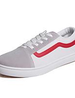 Недорогие -Муж. Комфортная обувь Полотно Осень Кеды Белый / Черный / Синий